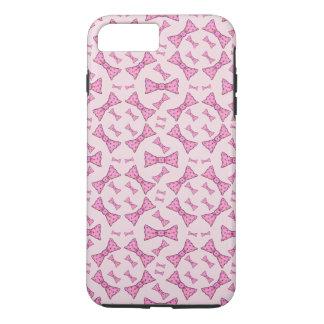 ピンクは携帯電話カバーを曲げます iPhone 8 PLUS/7 PLUSケース