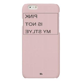ピンクは私のスタイルではないです