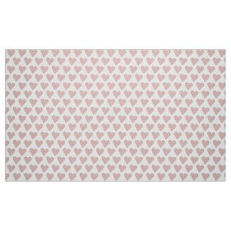 ピンクキャンデーのハートのかわいいのスタイル ファブリック