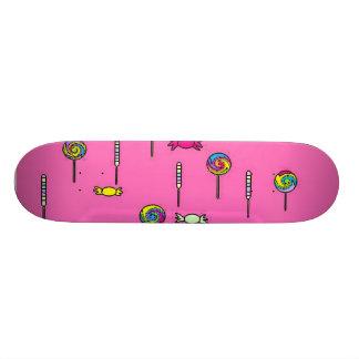 ピンクキャンデー 21.6CM スケートボードデッキ
