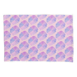 ピンクパターン 枕カバー
