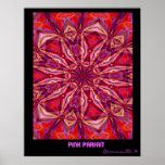 ピンクパフェ: 抽象美術ポスター ポスター
