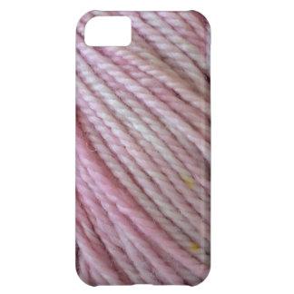 ピンクヤーン iPhone5Cケース