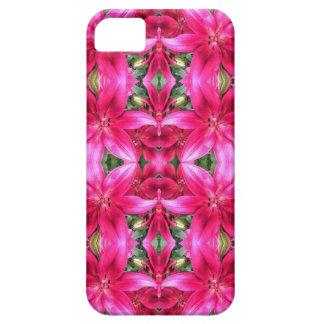 ピンクユリのモザイク Case-Mate iPhone 5 ケース