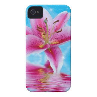 ピンクユリの輝き Case-Mate iPhone 4 ケース