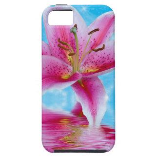 ピンクユリの輝き iPhone SE/5/5s ケース
