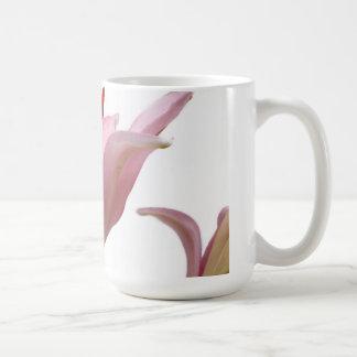 ピンクユリ コーヒーマグカップ