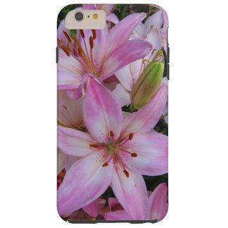 ピンクユリ シェル iPhone 6 ケース