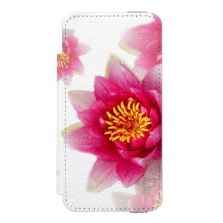 ピンクユリ INCIPIO WATSON™ iPhone 5 財布 ケース