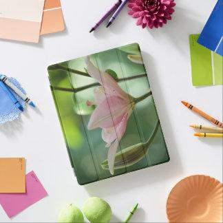 ピンクユリ iPadスマートカバー