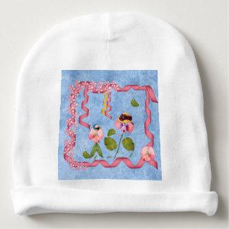 ピンクユーモアのあるなスイートピー及び藤色の花人々 ベビービーニー