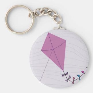 ピンク凧 キーホルダー