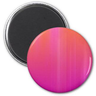 ピンク及びオレンジの抽象的なアートワーク: マグネット