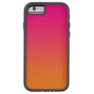 ピンク及びオレンジグラデーション TOUGH XTREME iPhone 6 ケース