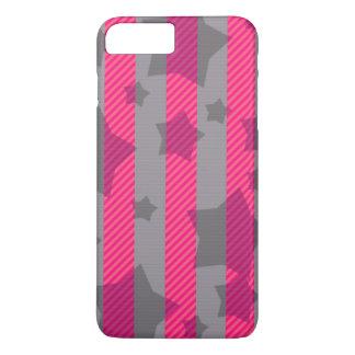 ピンク及び灰色 iPhone 8 PLUS/7 PLUSケース
