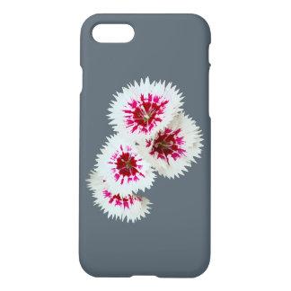 ピンク及び白い花のiPhone 7の場合 iPhone 7ケース