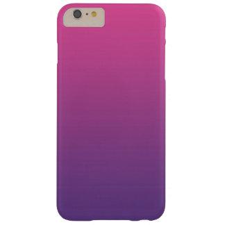 ピンク及び紫色のグラデーション BARELY THERE iPhone 6 PLUS ケース
