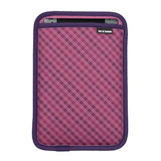 ピンク及び紫色の格子縞-カスタムなiPad Miniスリーブ iPad Miniスリーブ