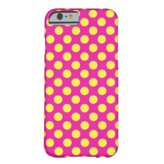 ピンク及び黄色いフーセンガム BARELY THERE iPhone 6 ケース