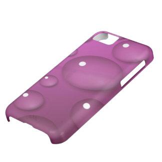 ピンク水低下の背景 iPhone5Cケース