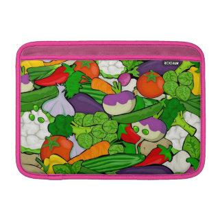 ピンク混合された野菜 MacBook スリーブ