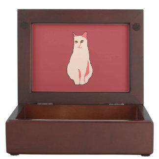 ピンク猫 ジュエリーボックス