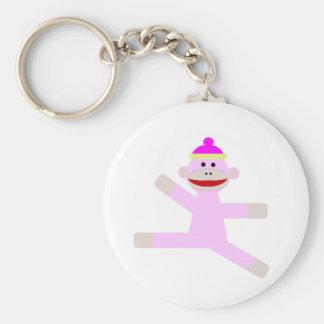 ピンク猿 キーホルダー