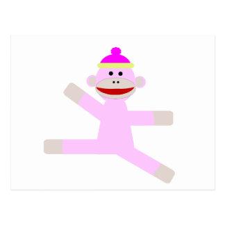 ピンク猿 ポストカード