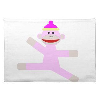 ピンク猿 ランチョンマット