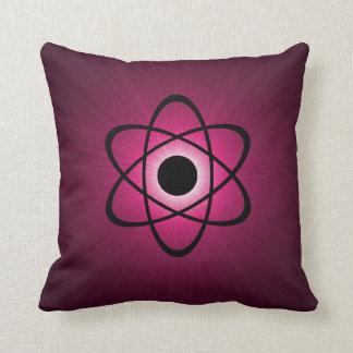 ピンク真面目な原子枕 クッション