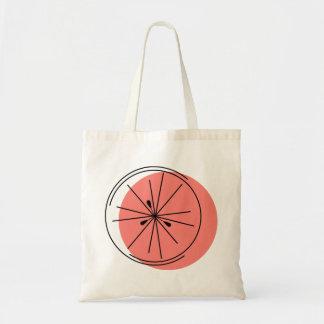 ピンク種のグレープフルーツのトートバック トートバッグ