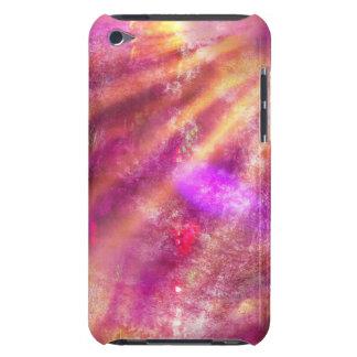 ピンク継ぎ目が無い背景の紫色を着色して下さい Case-Mate iPod TOUCH ケース
