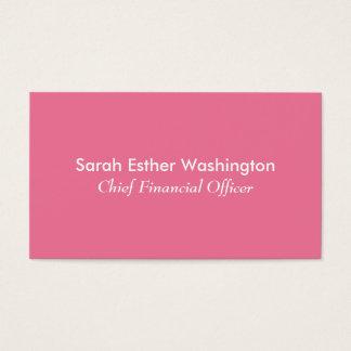 ピンク色 名刺
