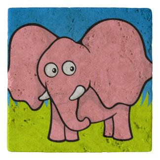 ピンク象の漫画 トリベット