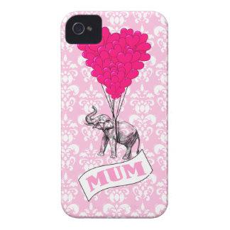 ピンク象を持つミイラ Case-Mate iPhone 4 ケース