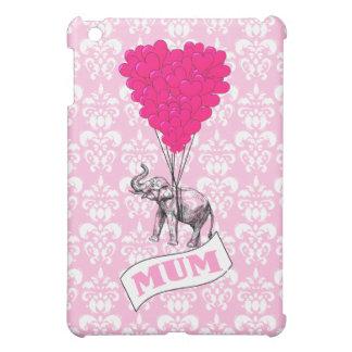 ピンク象を持つミイラ iPad MINI CASE