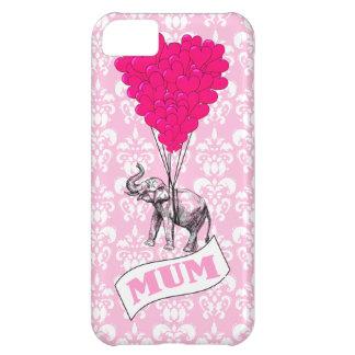 ピンク象を持つミイラ iPhone5Cケース