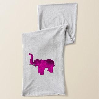 ピンク象 スカーフ