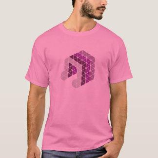 ピンク音楽ノート Tシャツ