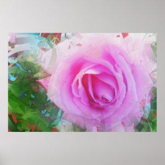 ピンク2でかわいらしい ポスター
