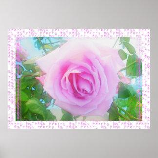 ピンク3でかわいらしい ポスター