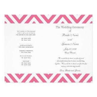 ピンク|シェブロン|パターン|現代的|結婚|プログラム