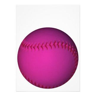 ピンク ソフトボール