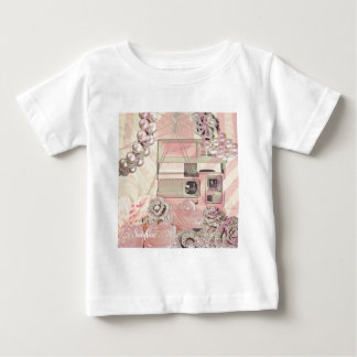 ピンク ベビーTシャツ