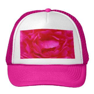 ピンク 上がりました 帽子 - カスタマイズ可能 帽子