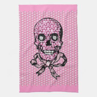 """ピンク""""降伏Fluty""""の家の装飾 キッチンタオル"""