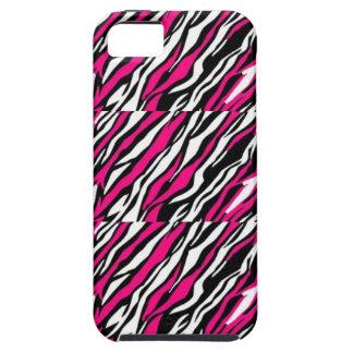 ピンク、黒く及び白いIphone、IPadの場合 iPhone SE/5/5s ケース