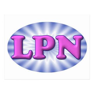 ピンクLPN ポストカード