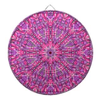 ピンクnの紫色の金属のおりのダート盤 ダーツボード
