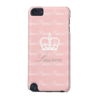 ピンクn白のプリンセスipod touch 5g iPod touch 5G ケース